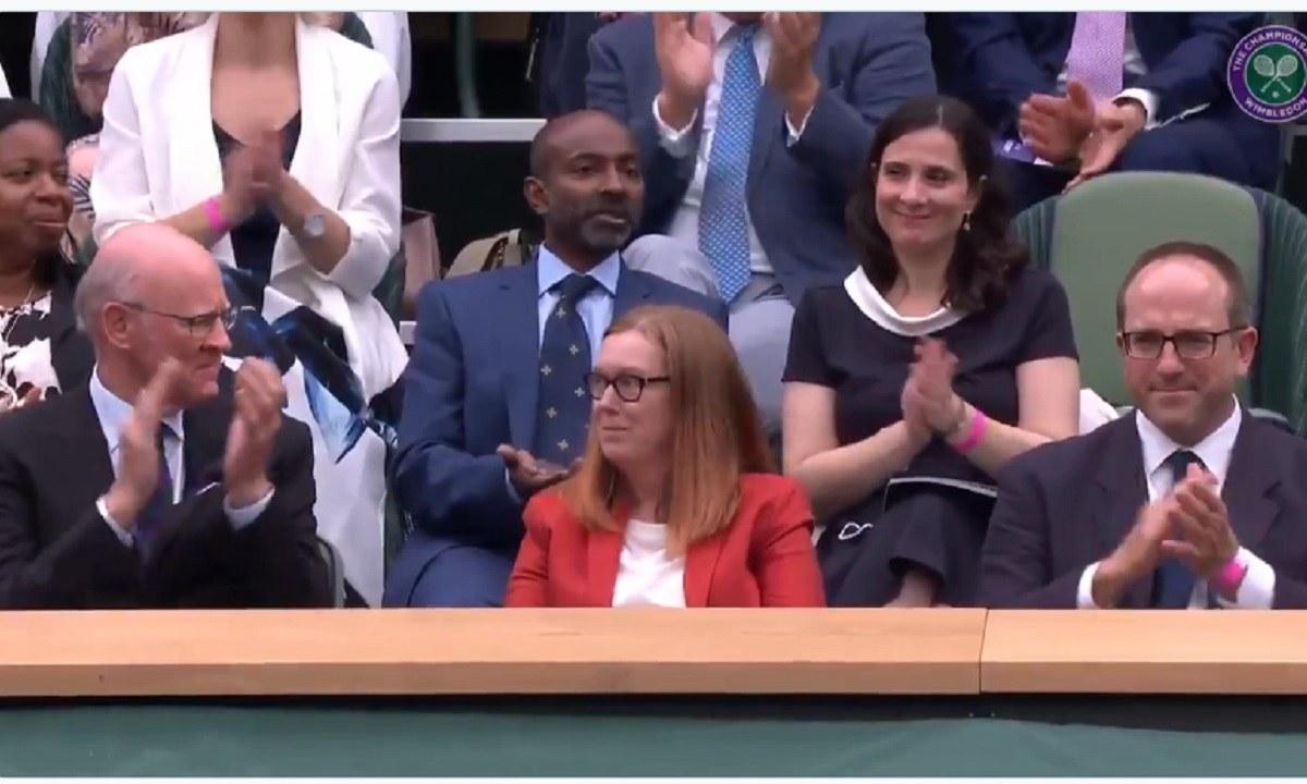 Wimbledon: Αποθέωση για την επιστήμονα που ανακάλυψε το AstraZeneca
