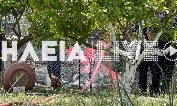 Το πρωί της Δευτέρας μονοκινητήριο αεροσκάφος έπεσε στον οικισμό Χαριάς του Δήμου Πύργου στην Ηλεία. Στο αεροσκάφος επέβαιναν δυο άτομα.