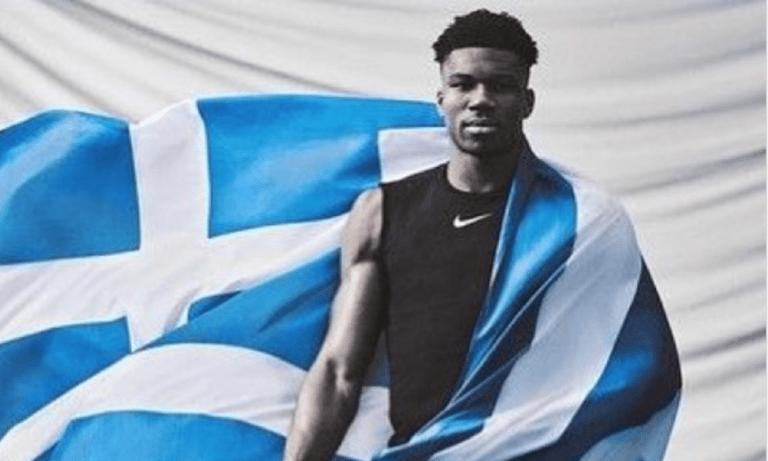 Τσιάρτας: Αποθεωτική ανάρτηση για τον Αντετοκούνμπο με ελληνική σημαία (pic)