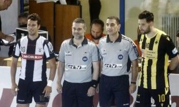 Η ΑΕΚ θα υποδεχθεί τον ΠΑΟΚ στον πρώτο τελικό για την Handball Premier League στο ΟΑΚΑ.