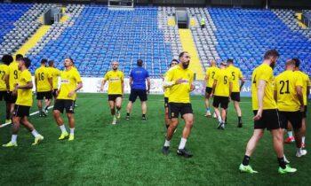Άρης - Αστάνα: Σέντρα στις 21:30, στο γήπεδο «Κλεάνθης Βικελίδης» για τον επαναληπτικό του δεύτερου γύρου του Europa Confereve League.