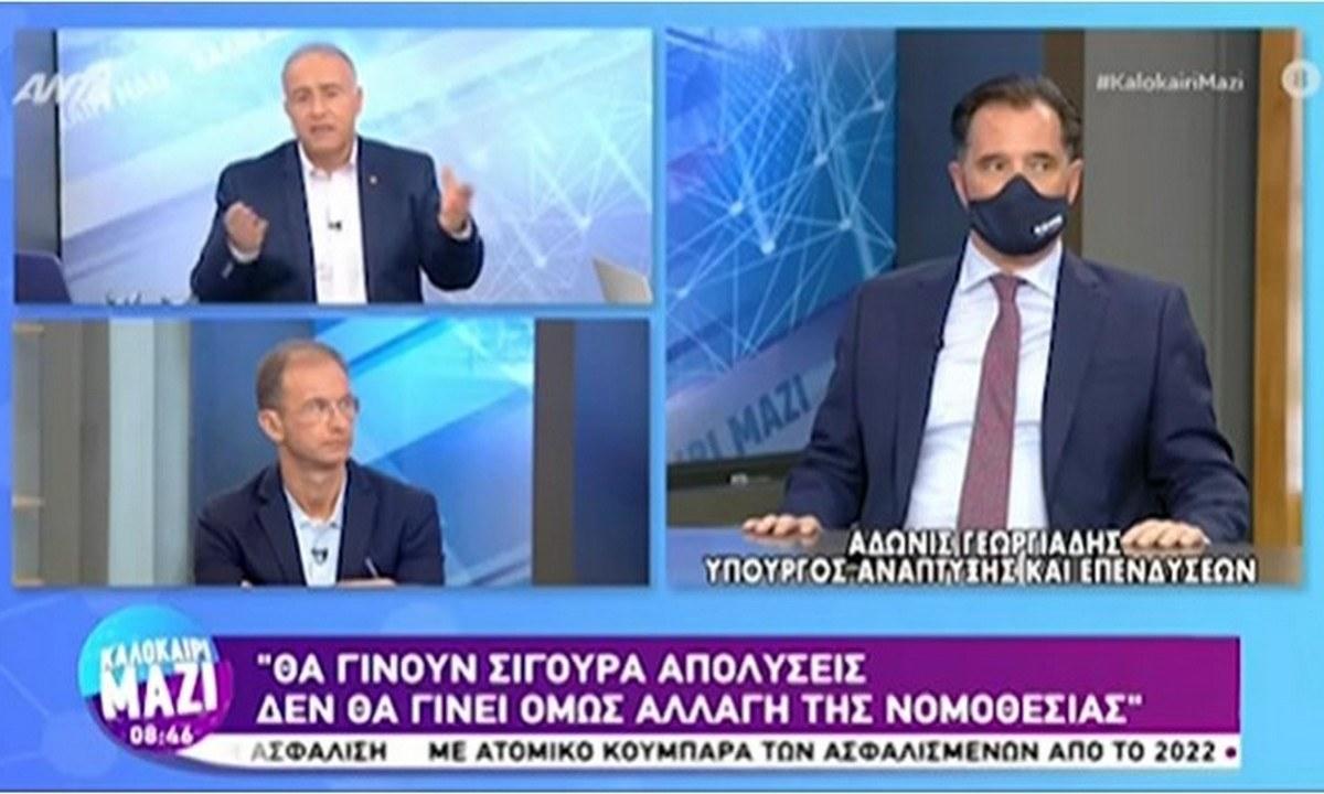 Άδωνις Γεωργιάδης: «Θα γίνουν απολύσεις ανεμβολίαστων στον ιδιωτικό τομέα»