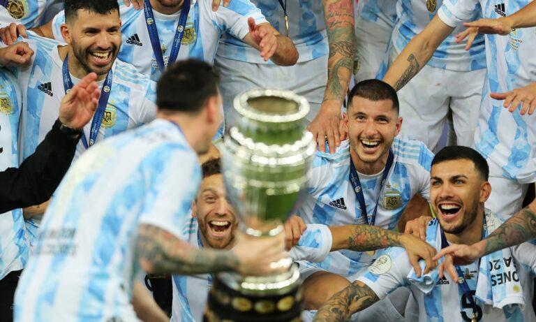 Αργεντινή Copa America: Το πανηγύρισε η Νάπολι για τον… Ντιέγκο (pic)