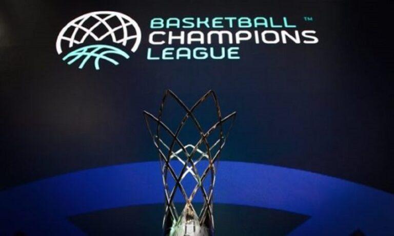 Basketball Champions League: Στα… μέτρα της ΑΕΚ η κλήρωση, στα… δύσκολα ΠΑΟΚ και Λαύριο