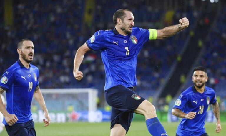 Euro 2020 Κιελίνι: Αφιέρωσε το τρόπαιο στον Αστόρι (vid)
