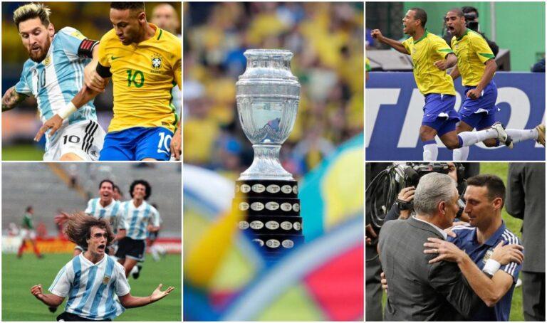 Copa America 2021 – Αργεντινή VS Βραζιλία: Ο πλήρης οδηγός για έναν θρυλικό τελικό