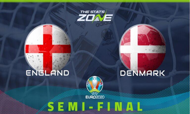 Euro 2020: Αγγλία – Δανία 2-1 (ΤΕΛΙΚΟ)