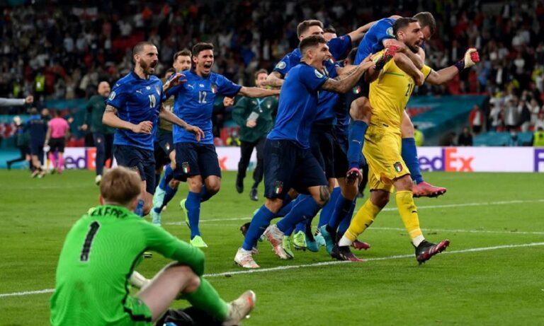 Euro 2020 Ιταλία – Αγγλία 1-1 (3-2 πέν.): Τελικά το τρόπαιο στη Ρώμη!