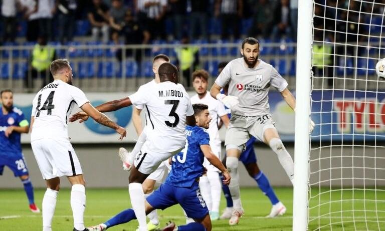 Νέφτσι – Ολυμπιακός: Το γκολ – περιπέτεια που έβαλε ο Μασούρας (vid)