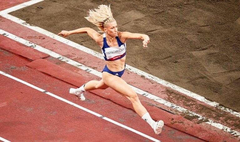 Ολυμπιακοί Αγώνες 2020- Στίβος: Η προσπάθεια της Βούλας Παπαχρήστου (φωτογραφίες)