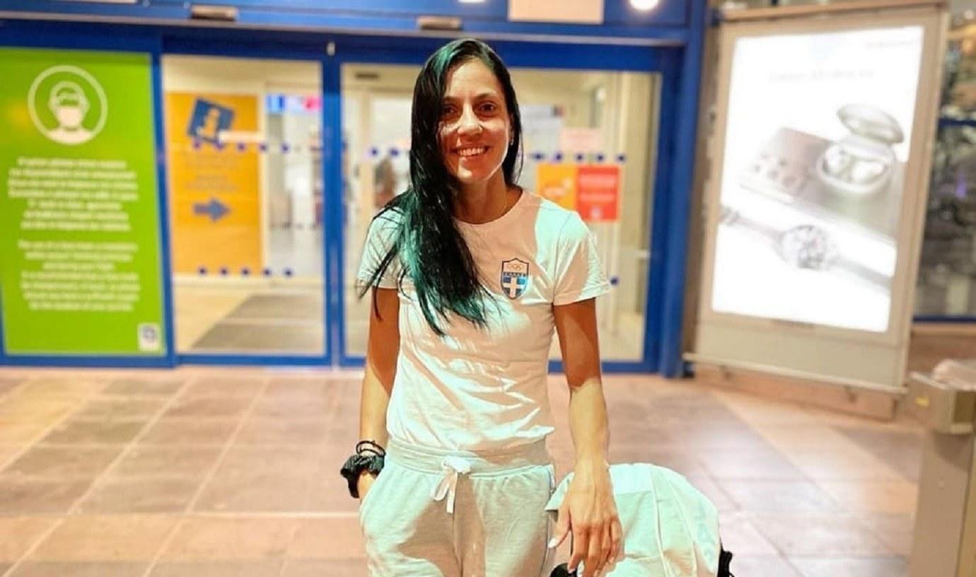 Ολυμπιακοί Αγώνες 2020- Στίβος: Η Ελισάβετ Πεσιρίδου αναχώρησε για το Τόκιο