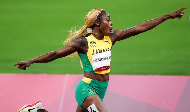 Μια βολίδα που ακούσει στο όνομα Ελέιν Τόμπσον-Έρα σάρωσε τον τελικό των 100μ. γυναικών στους Ολυμπιακούς Αγώνες επικρατώντας σε 10.61!