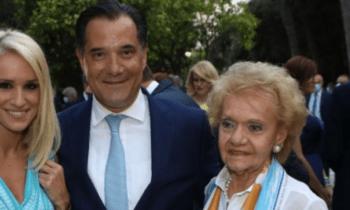 Ο Αδωνις Γεωργιάδης, που βρέθηκε θετικός στον κορονοϊό λίγες ώρες νωρίτερα είχε δώσει το «παρών» σε εκδήλωση για τη δημοκρατία στο Προεδρικό Μέγαρο.