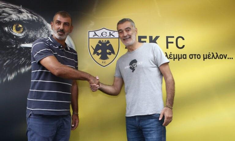 Επίσημο: Ο Οφρυδόπουλος προπονητής στην ΑΕΚ Β'