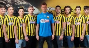 Επαγγελματικά συμβόλαια υπέγραψαν σήμερα εννέα ποδοσφαιριστές προερχόμενοι από την ομάδα Κ19 και τα άλλα τμήματα υποδομής της ΑΕΚ.