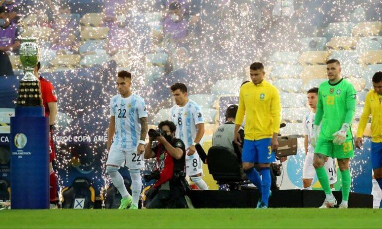 Αργεντινή – Βραζιλία 1-0 (ΤΕΛΙΚΟ)