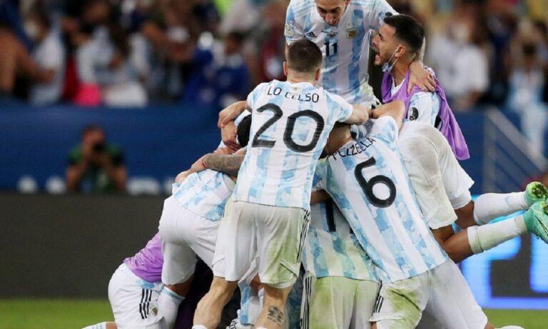 Η «χρυσή βίβλος» του Copa America – Έπιασε κορυφή η Αργεντινή