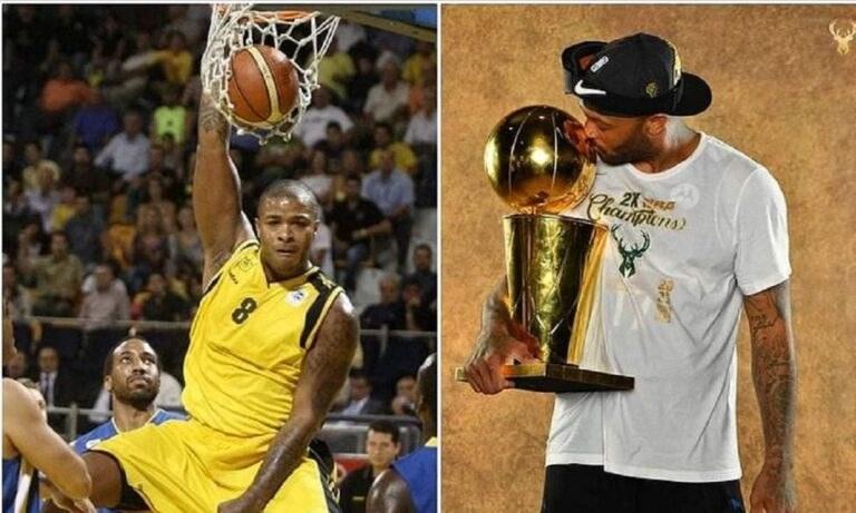 Ένας πρωταθλητής του NBA που είναι και «παιδί» του Άρη! Ο λόγος για τον Πι Τζέι Τάκερ ο οποίος μαζί με τον Γιάννη Αντετοκούνμπο πανηγύρισαν τον βαρύτιμο τίτλο!