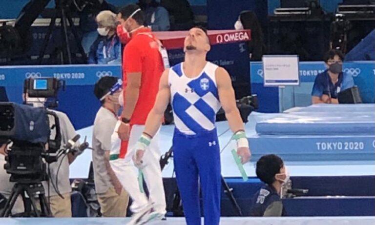 Ολυμπιακοί Αγώνες 2020: Η εκπληκτική προσπάθεια του Πετρούνια που δεν έδειξε η ΕΡΤ (vid)