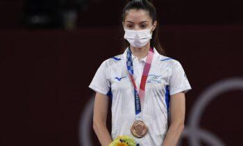 Η Αβισάγκ Σέμπεργκ έγινε η νεότερη αθλήτρια που κατέκτησε ποτέ μετάλλιο για το Ισραήλ σε Ολυμπιακούς Αγώνες. Νίκησε την Τουρκάλα Ρουκιγιέ Γιλντιρίμ.
