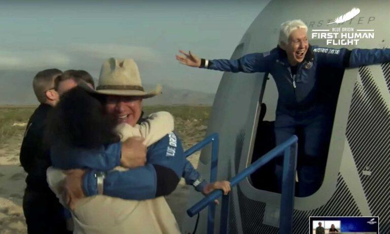 Τζεφ Μπέζος: Πέταξε στο διάστημα και επέστρεψε…ως καουμπόης