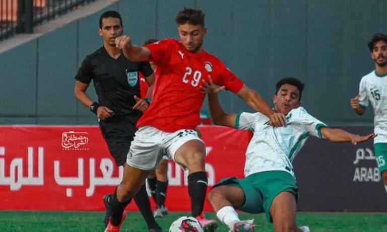 Παναθηναϊκός: Δεν κατάφερε να προκριθεί στον τελικό του Arab Nations Cup U20 η Αίγυπτος του Μπιλάλ Μαχάρ Αμπντελραχμάν.