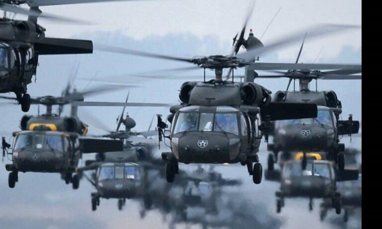 Ελληνοτουρκικά: Η Αμερική έστειλε 150 επιθετικά ελικόπτερα στην Αλεξανδρούπολη