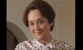 Θλίψη - Έφυγε από τη ζωή η ηθοποιός Ελπίδα Μπραουδάκη!