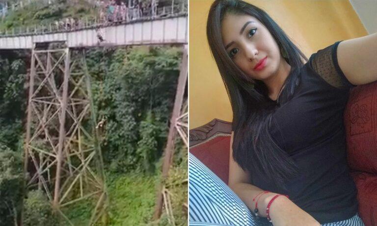 Έκανε bungee jump από γέφυρα χωρίς να την έχουν δέσει – Νόμιζε ότι της έκαναν νόημα να πηδήσει