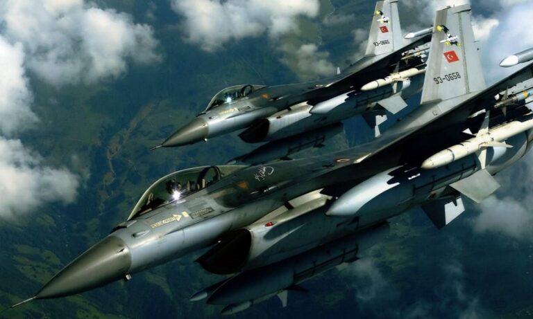 Ελληνοτουρκικά: Δέκα μαχητικά και κατασκοπευτικά παραβίασαν τον εθνικό εναέριο χώρο.