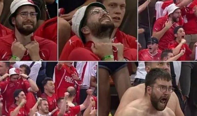 Euro 2020: Έγινε διάσημος και βγάζει λεφτά μετά τις αντιδράσεις του στην κερκίδα!
