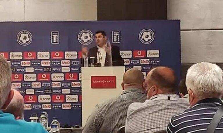 ΕΠΣ Γρεβενών – Κουπτσίδης: Να ψηφιστεί πρώτα ο νόμος Αυγενάκη  και μετά  η ολιστική της UEFA!