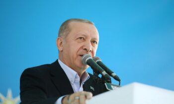 Τουρκία: Από την Κωνσταντινούπολη ο Ρετζέπ Ταγίπ Ερντογάν προέβη σε δηλώσεις προς τους ρεπόρτερ με αφορμή τις πυρκαγιές που καίνε τη χώρα.