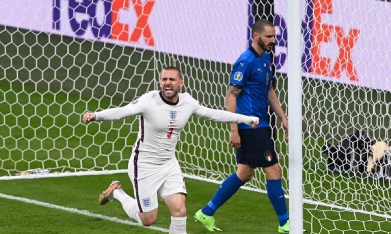 Euro 2020 Ιταλία – Αγγλία: Ο Σο ανοίγει το σκορ με το «καλησπέρα» (vid)