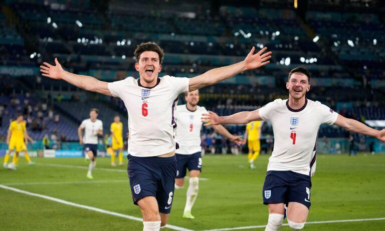 Euro 2020 Ουκρανία – Αγγλία: «Τυφώνας» Μαγκουάιρ και Κέιν για το 0-3!