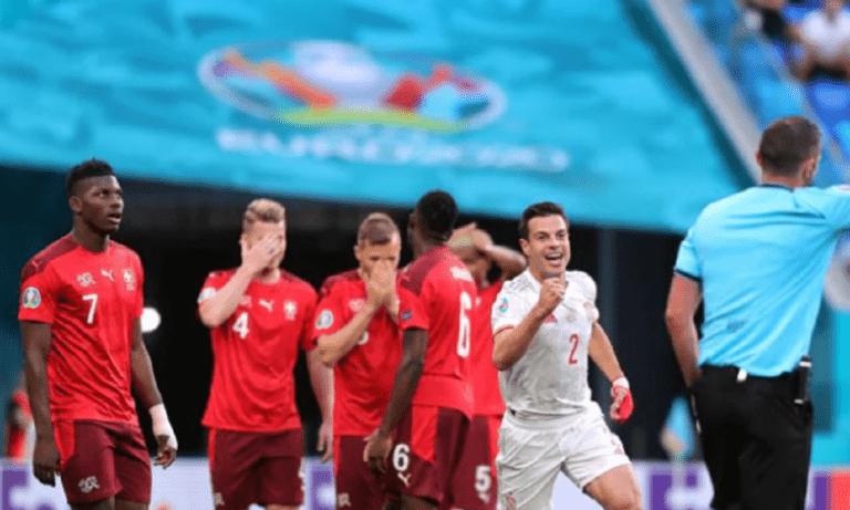 Euro 2020 – Ελβετία – Ισπανία: 0-1 με Ζόρντι Άλμπα ελέω… Ζακάρια! (vid)
