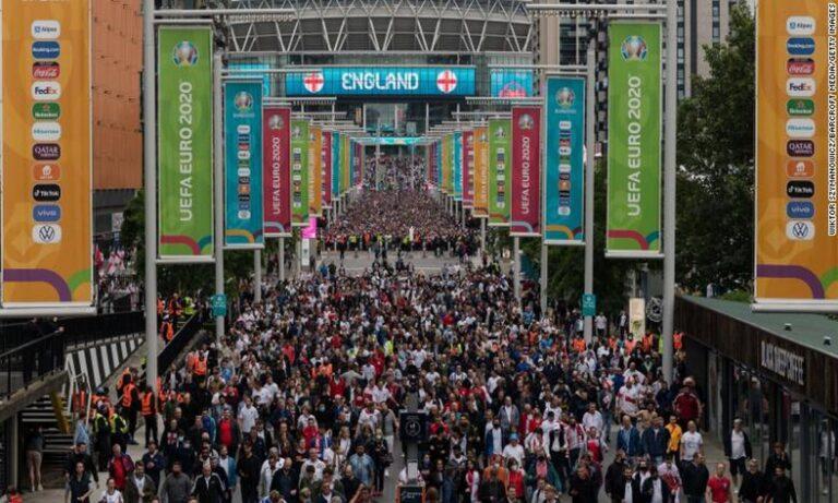 Euro 2020: Τρέμουν στην Αγγλία τον τελικό για κορονοϊό – «Συνταγή καταστροφής»