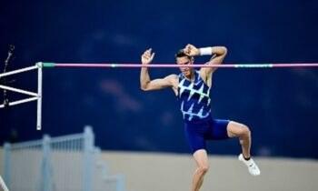 Ο Κώστας Φιλιππίδης κατέλαβε την έκτη θέση στο επί κοντώ με καλύτερο άλμα στα 5,41 μέτρα σε έναν ακόμη αγώνα προετοιμασίας.
