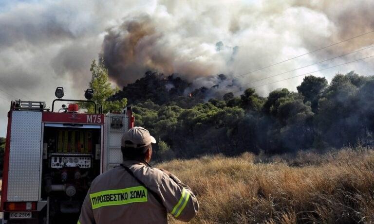 Φωτιά: Πολύ υψηλός κίνδυνος τη Δευτέρα (26/7) γι' αυτές τις περιοχές