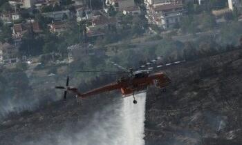 Φωτιά στη Σταμάτα: Συνελήφθη το βράδυ της Τρίτης (27/7) ένας μελισσοκόμος για την πυρκαγιά η οποία επεκτάθηκε και σε Ροδόπολη, Διόνυσο.