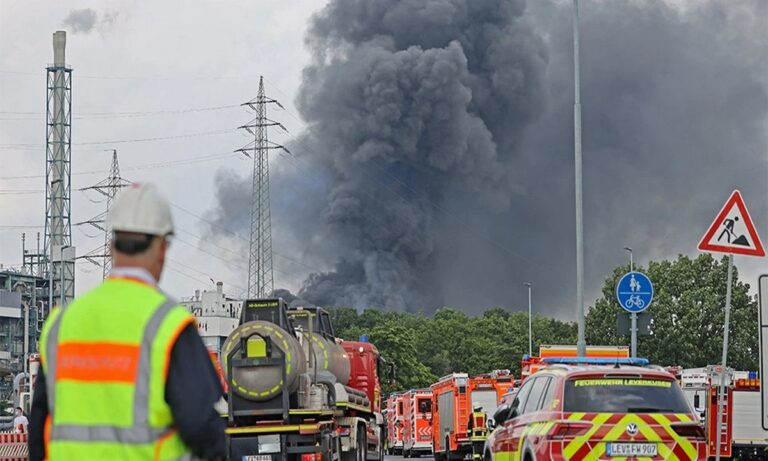 Γερμανία: Νεκροί και αγνοούμενοι από την έκρηξη σε μονάδα επεξεργασίας απορριμμάτων