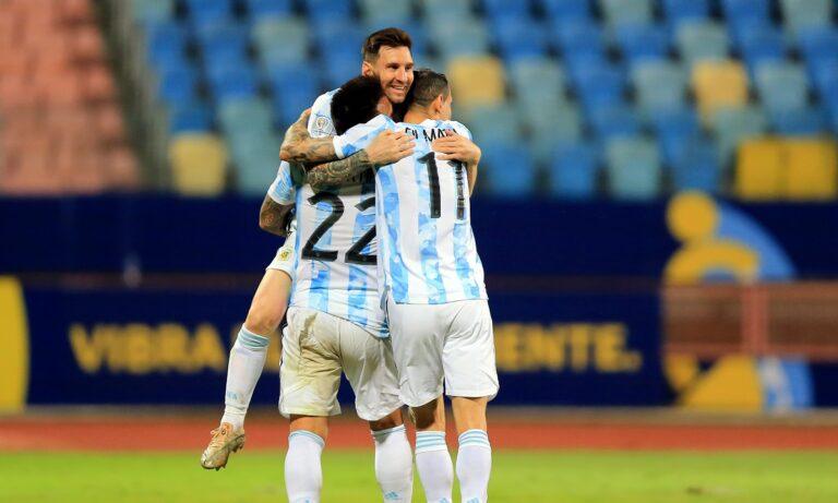 Αργεντινή – Βραζιλία: Από το…πουθενά 1-0 με Ντι Μαρία (vid)