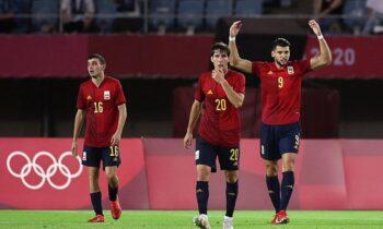 Ολυμπιακοί Αγώνες 2020: Η Ισπανία πήρε το εισιτήριο για τα ημιτελικά, επικρατώντας στην παράταση με 5-2 της Ακτής Ελεφαντοστού.