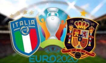 Δείτε τις ενδεκάδες που επέλεξαν Ρομπέρτο Μαντσίνι και Λουίς Ενρίκε για την αναμέτρηση ανάμεσα στην Ιταλία και την Ισπανία στο πλαίσιο των ημιτελικών του Euro 2020.