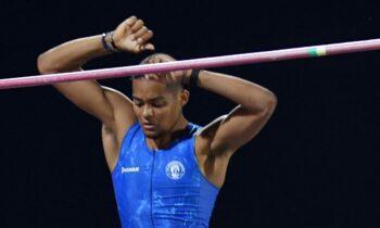 Στο δεύτερο ψηλότερο σκαλί του βάθρου στο επί κοντώ ανέβηκε οΕμμανουήλΚαραλής με άλμα στα 5,65μ στο Ευρωπαϊκο πρωτάθλημα Κ-23 στο Τάλιν.