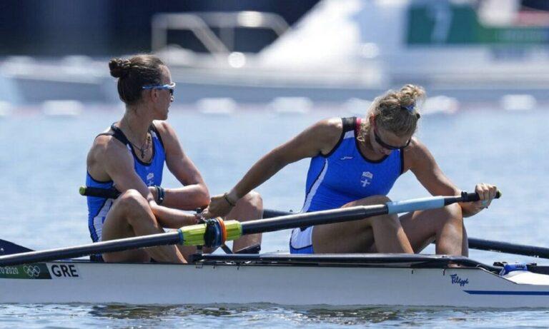 Ολυμπιακοί Αγώνες 2020: Στην 5η θέση στον τελικό της δικώπου έμειναν Κυρίδου και Μπούρμπου!