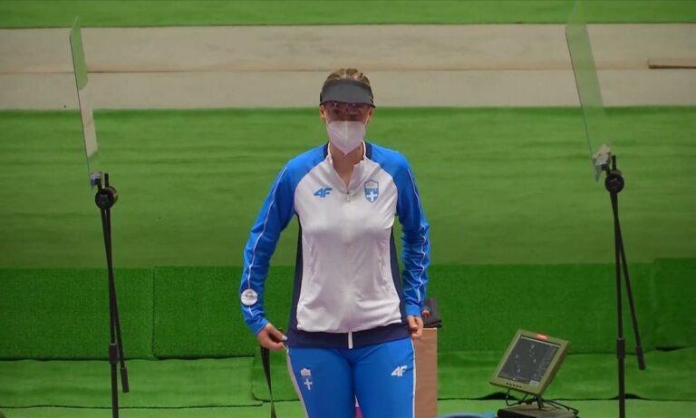 Ολυμπιακοί Αγώνες 2020: Εξαιρετική εμφάνιση για την Άννα Κορακάκη στη σκοποβολή