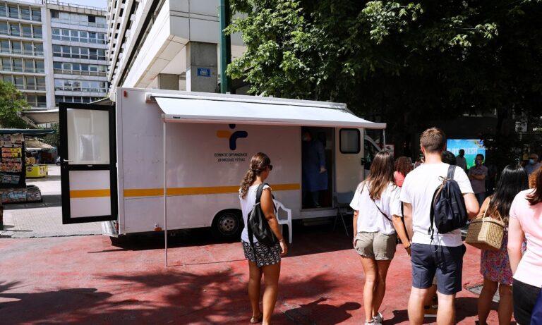 Κορονοϊός: Πού θα γίνουν δωρεάν rapid test την Τρίτη (27/7)