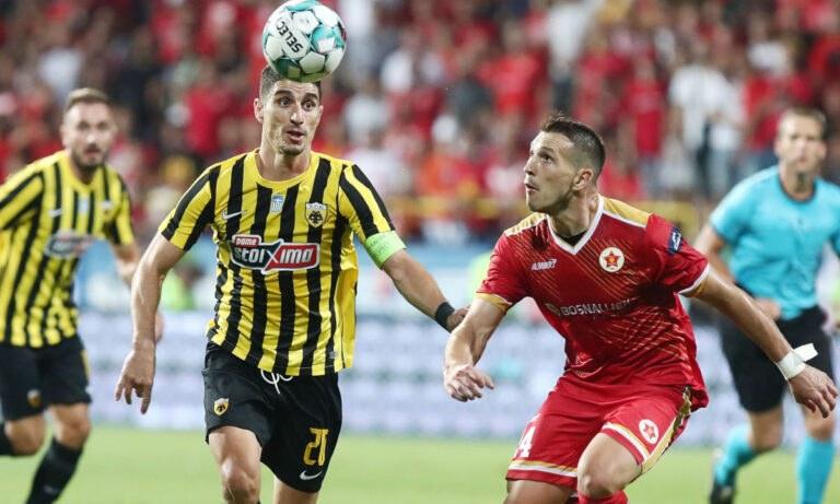 Η ΑΕΚ έβαλε... αυτογκόλ στην Βοσνία. Ενα παιχνίδι δικό της, στα μέτρα της, χάθηκε τελικά και τώρα η ίδια τρέχει στο ΟΑΚΑ για την ανατροπή.
