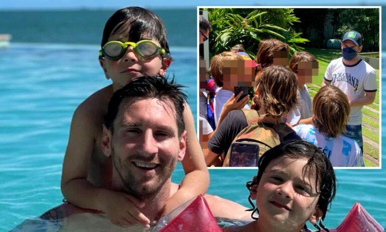 Μέσι: Οι καλύτερες διακοπές της ζωής του στο Μαϊάμι – Παρέα με την Αντονέλα και τους τρεις γιους του